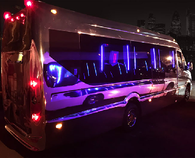 Party Bus Hire in Liverpool