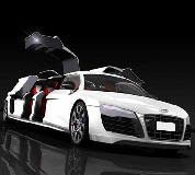 Audi R8 Limo Hire in Cambridge