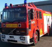 Fire Engine Hire in Sheffield