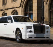 Rolls Royce Phantom Limo in Mid Wales