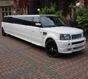 Range Rover Limo in North Wales