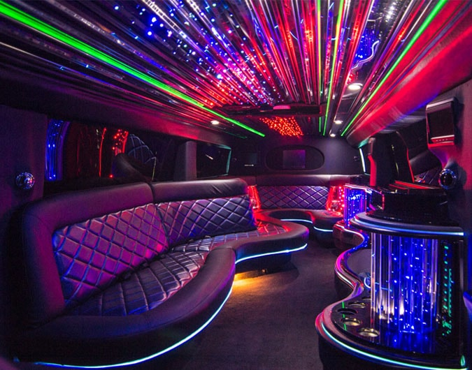 Hire a party bus in North West